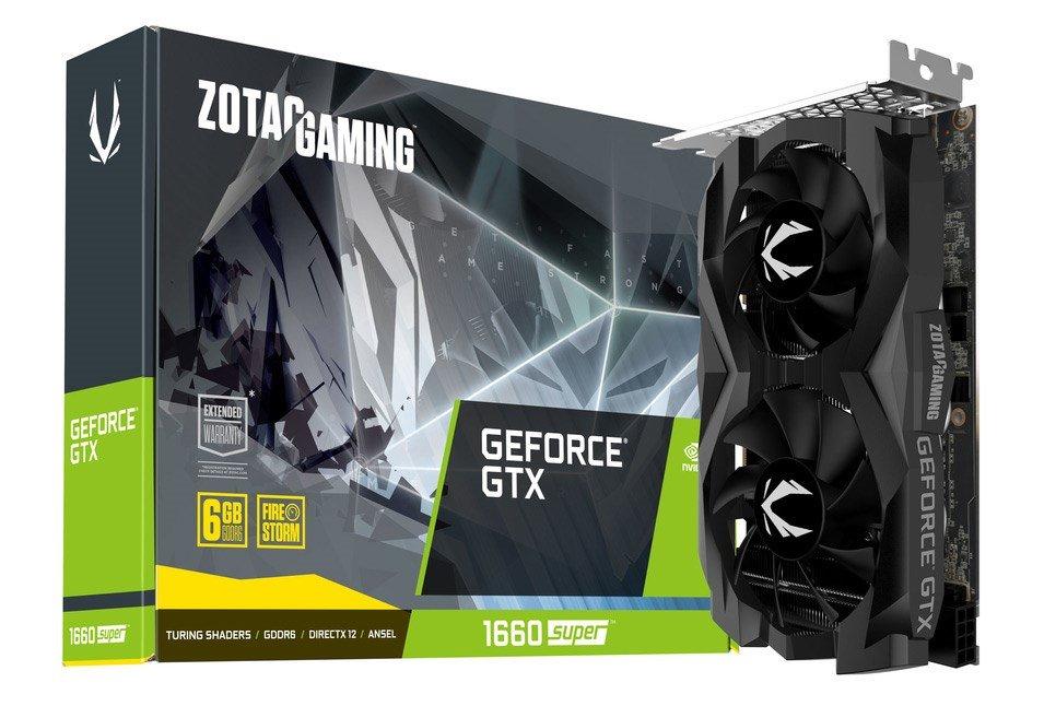 Zotac GeForce GTX 1660 SUPER 6GB Graphics Card - £213.83 @ CCL Online