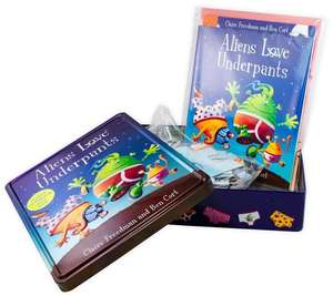 Aliens Love Underpants Anniversary Tin with Double-sided poster and Jigsaw - £5.95 delivered @ Books2door