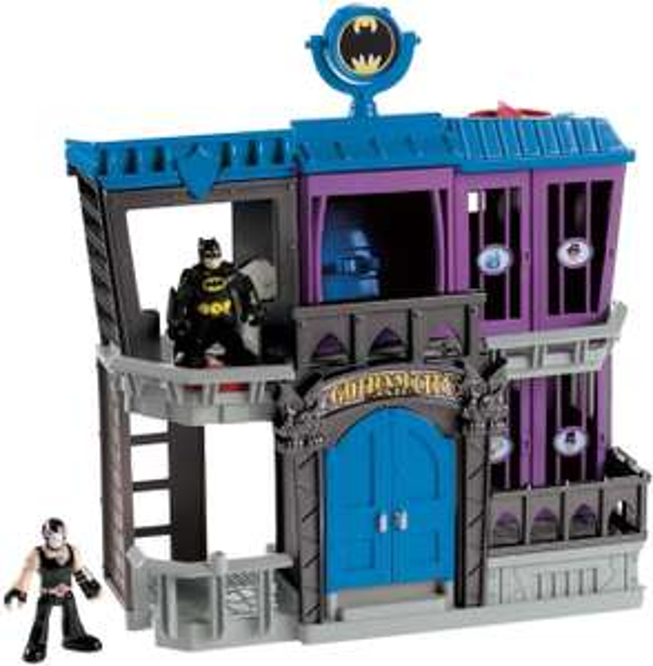 Fisher Price Imaginext DC Super Friends Gotham City Jail + Bane & Batman figures £26.99 delivered @ Bargain Max