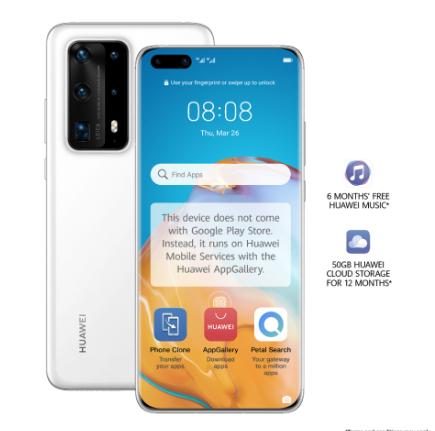 Huawei P40 Pro+ 5G Smartphone + free HUAWEI WATCH GT 2 Pebble & free HUAWEI SuperCharge Wireless Charger Stand £1299.99 @ Huawei