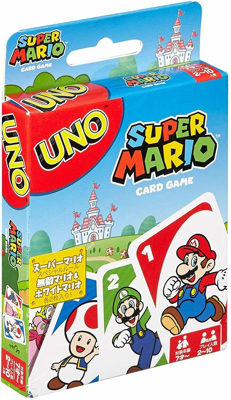 Mattel Games UNO Super Mario - £5.75 - eBay/hotbargains