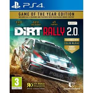 DiRT Rally 2.0 Game Of The Year Edition [PS4/Xbox One] - £16.95 @ The Game Collection