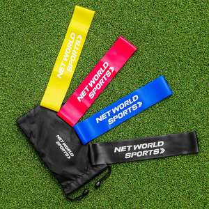 Resistance Bands (Pack Of 4) £6.94 delivered @ Networld Sports
