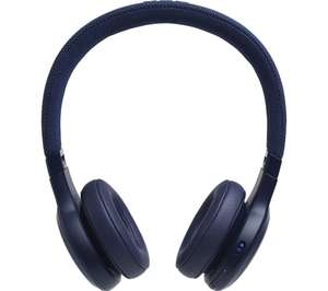 JBL LIVE 400BT Wireless Bluetooth Headphones - Blue £44.97 delivered at Currys PC World