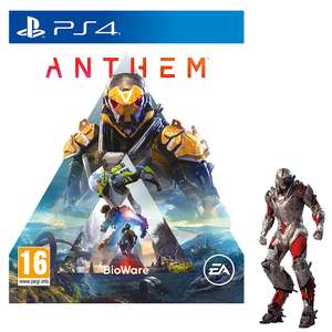 Anthem, Resolve Skin £4.99 and a £5 Voucher (Click and Collect £4.99) @ Game