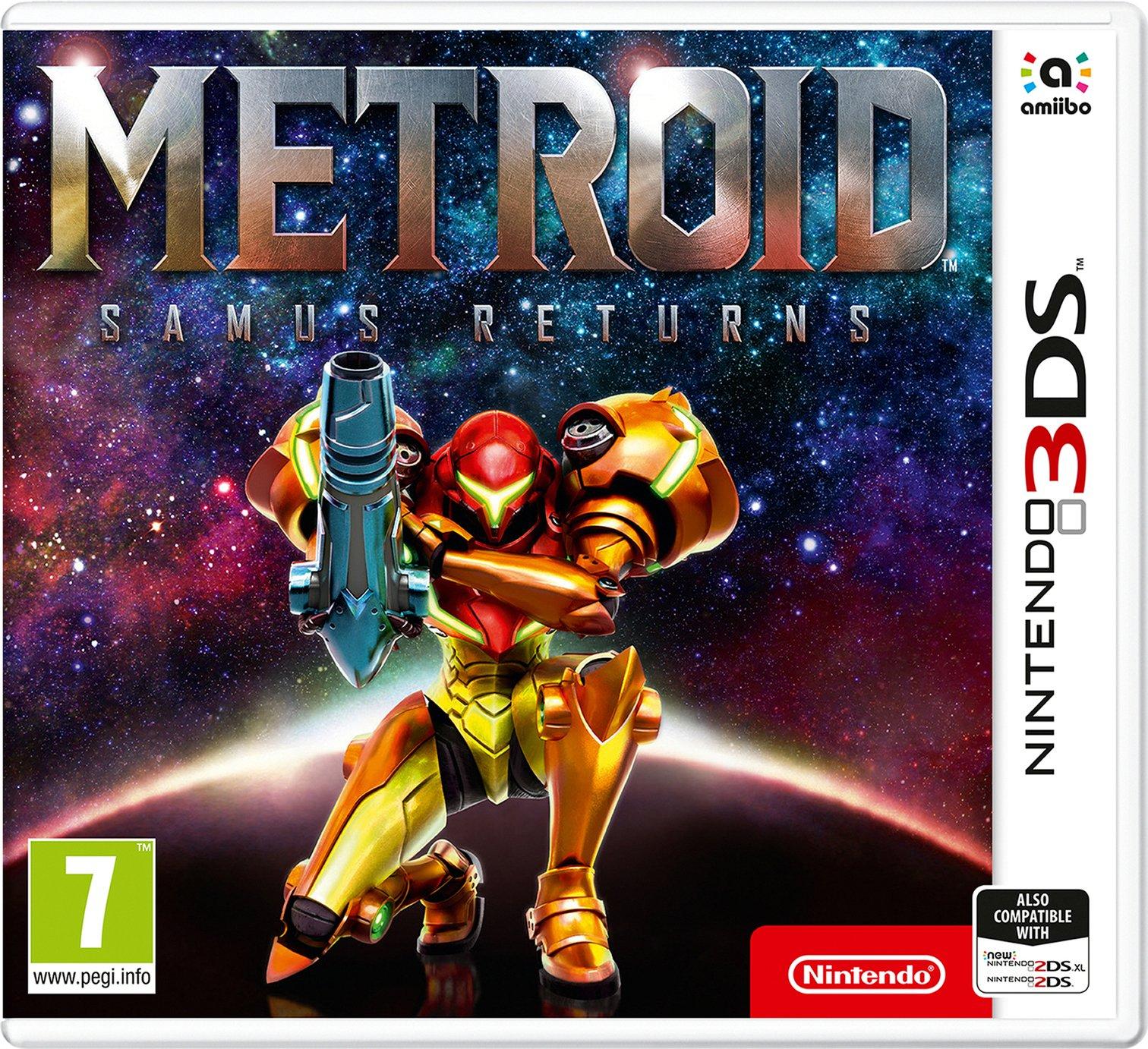 Metroid: Samus Returns Nintendo 3DS Game - £12.99 @ Argos + free Click and Collect