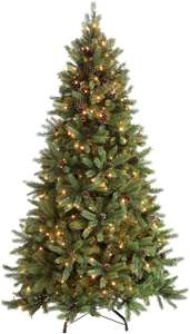 6ft pre-lit Christmas Tree with Pinecones - Used - Very Good £42.66 Amazon Warehouse