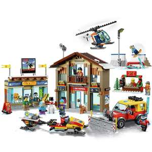 LEGO City Extra Town 2019 Playset - Ski Resort 60203 - £45 Using Click & Collect / £48.95 Delivered @ Argos