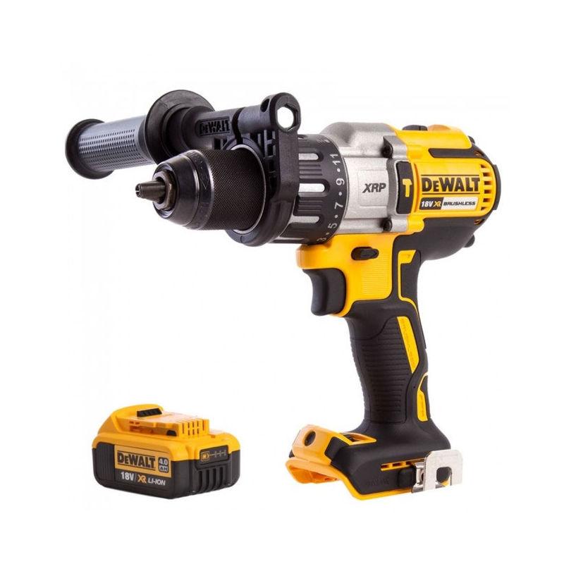 Dewalt DCD996N 18V Li-Ion Brushless Combi Drill with 4.0Ah Battery - £157 delivered @ Manomano