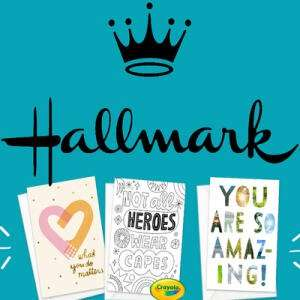 3 FREE Thank you gratitude cards to give away + Free P&P @ Hallmark