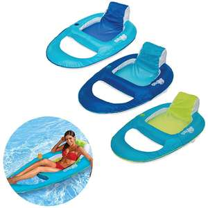 SwimWays Spring Float Recliner Fabric Cover Pool Float £12.00 Including Delivery @ Yankee Bundles