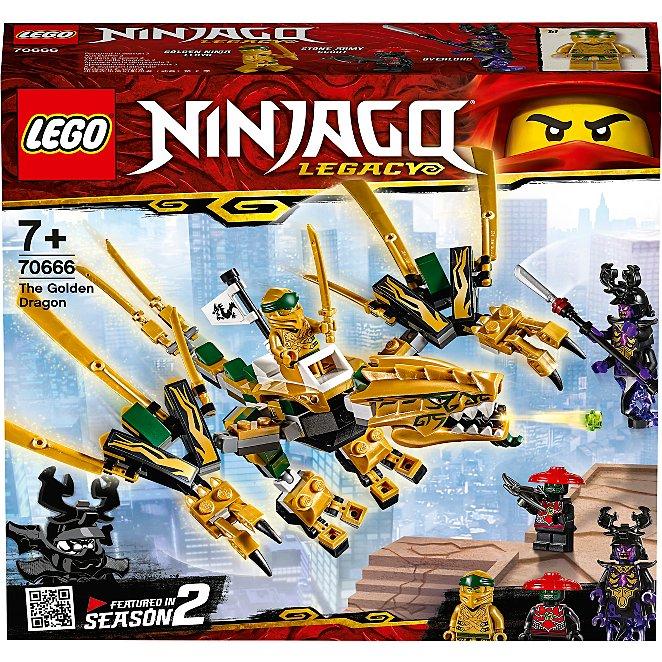 LEGO 70666 The Golden Dragon for £10.80 (Prime) / £15.29 (Non Prime) delivered @ Amazon
