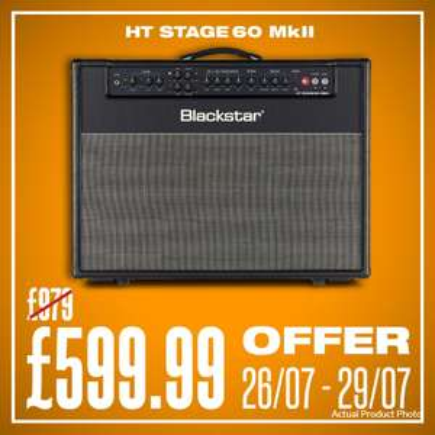 Blackstar - HT Stage 60 MKII Valve Combo Guitar Amp - £599.99 + 5% Off Totalling £569.05 Delivered @ Musicstreet