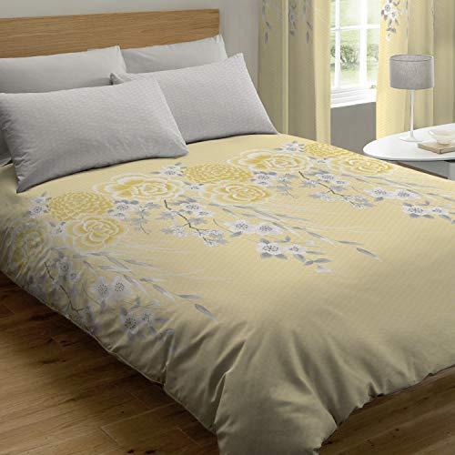 Catherine Lansfield Oriental Blossom Duvet Cover set only £4.84 Prime / £9.33 Non Prime @ Amazon
