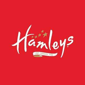 Extra 10% off the up to 25% Sale on Toys with Voucher Code @ Hamleys
