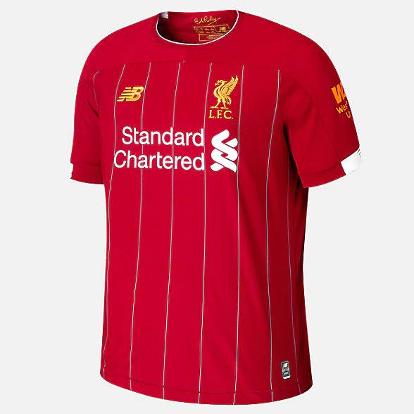 Liverpool FC Home 2019/20 Jersey £31.20 + £4.50 del @ NewBalance