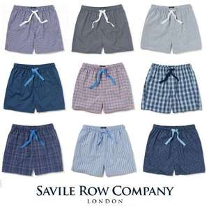 Savile Row Lounge Pants (was £40) Now £12 / Lounge Shorts (was £32) Now £10 + Free Delivery using code @ Savile Row