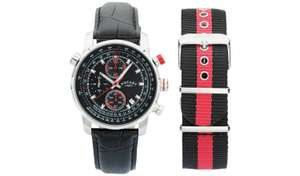 Rotary Men's Chronograph Black Leather Strap Watch £59.99 @ Argos (Free C&C / £3.95 Delivery)
