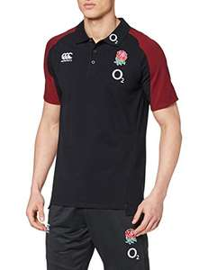 Canterbury Men's England Vapodri Polo Shirt from £11.10 (Prime) + £4.49 (non Prime) at Amazon