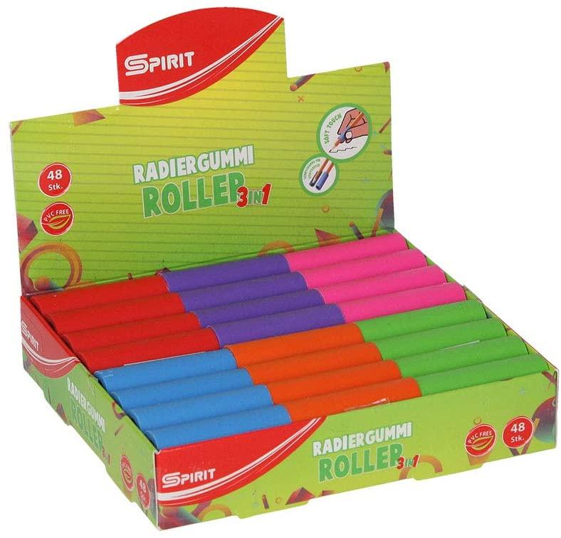 "Spirit TTS Erasers""Roller"" Pack of 48 11p @ Amazon (+£4.49 non-prime)"