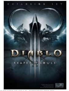 Diablo 3 expansion set PC £10 @ Asda Trafford Park