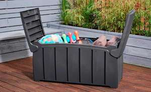 Strata 332ltr Grey Garden Storage Box - Collection only - £29.99 @ Home Hardware Direct