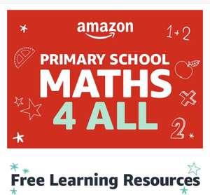 Various Free Maths resources for all Primary Key Stages on Amazon