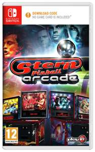 Stern pinball arcade nintendo switch download - £9.99, 2 for £14.99 & £3 worth of eshop credit per game @ Argos / free Click and Collect