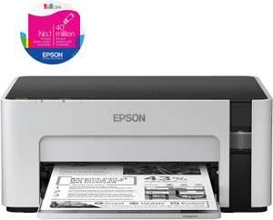 MONO Epson EcoTank ET-M1100 Inkjet Printer with Refillable Ink Tank - £85.47 @ Amazon