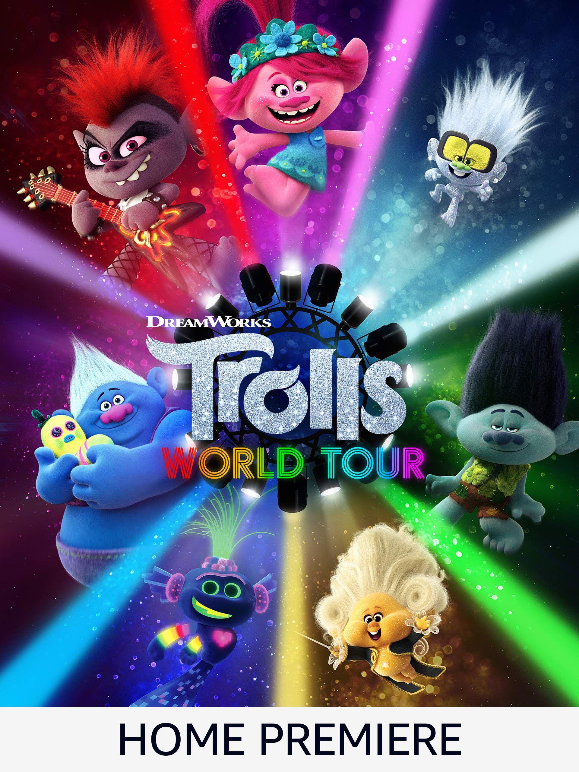 Trolls 2 World Tour - £5.49 Rental @ Amazon Prime Video
