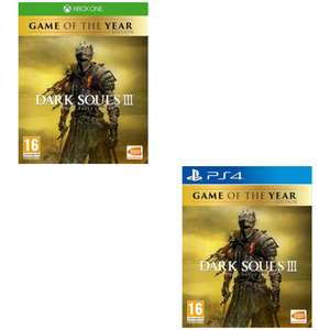 [Xbox One/PS4] Dark Souls III - The Fire Fades Game Of The Year Edition - £17.05 with code delivered @ The Game Collection