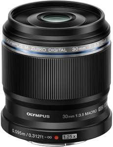 Olympus M. Zuiko Digital ED 30 mm F3.5 Macro Lens MFT Cameras - £160.97 (£155.80 via Revolut) @ Amazon Germany