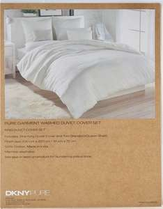DKNY PURE duvet cover set £48.98 delivered (King & Super King) at TK Maxx