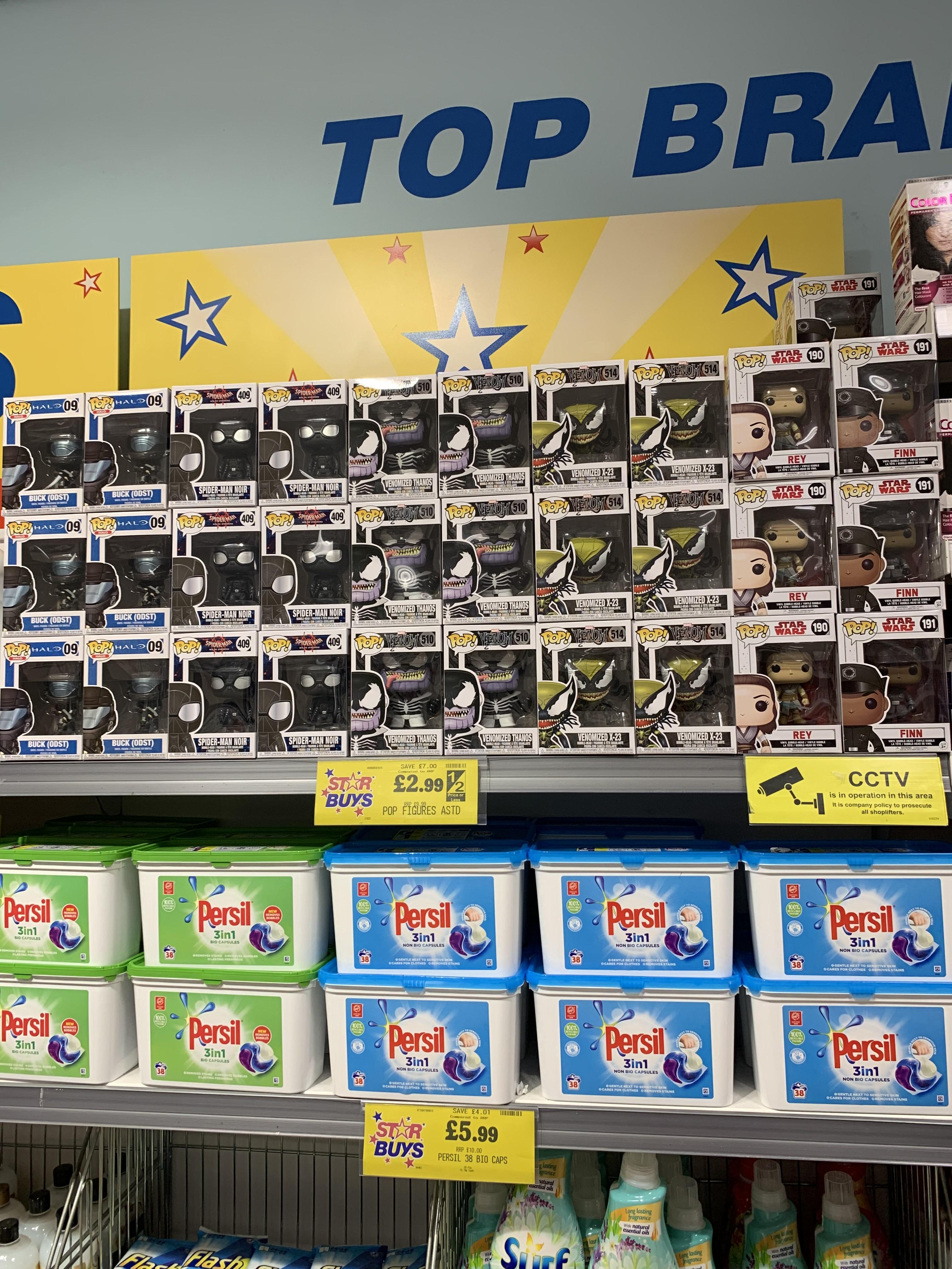 Pop Vinyl figures for £2.99 instore at Home Bargains