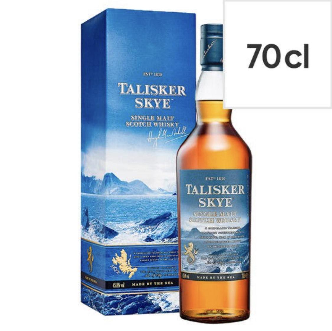 Talisker Skye (70cl) - £26 @ Tesco