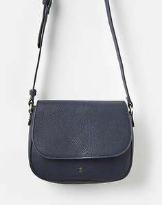 Joules 207384 Saddle Bag - French Navy in One Size - £12.95 delivered @ Joules / eBay
