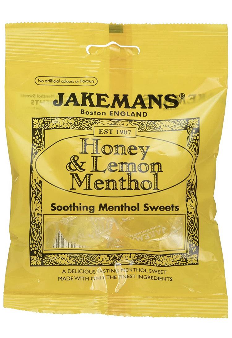 Jakemans Honey & Lemon Bags 100g - £0.60 or £0.57 S&S Prime / +£4.49 non Prime @ Amazon