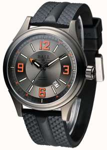 Ball Watch Company Fireman Racer DLC Automatic Rubber Strap Grey Dial - £940 delivered using code @ First Class Watches