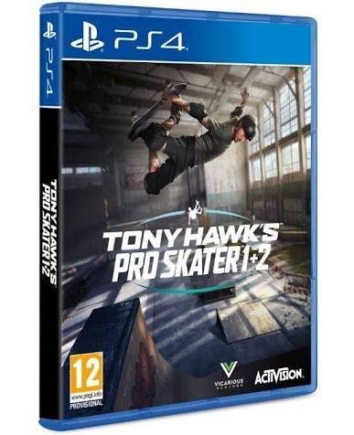 Tony Hawk's Pro Skater 1 + 2 for PS4 PlayStation 4 pre-order £33.85 @ Base