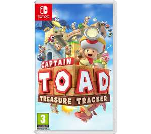Captain Toad: Treasure Tracker (Nintendo Switch) with 6 months Spotify premium (new accounts) £27.99 @ Currys