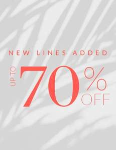 Up to 70% off Sale Plus Free Delivery and returns Sizes up to a Dress size 26 From Phase Eight