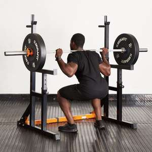 Mirafit M1 Squat & Dip Rack - Spotter Adjustable - £154.90 Delivered @ Mirafit