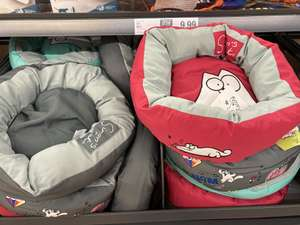 Simons Cat cat bed £9.99 at Lidl Sheffield queens road