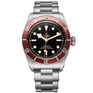 Tudor Black Bay Red £1900 Ernest Jones in store