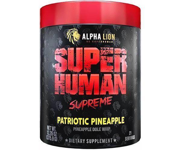 ALPHA LION SUPER HUMAN SUPREME -pre workout £31.19 @ snackpacklimited eBay