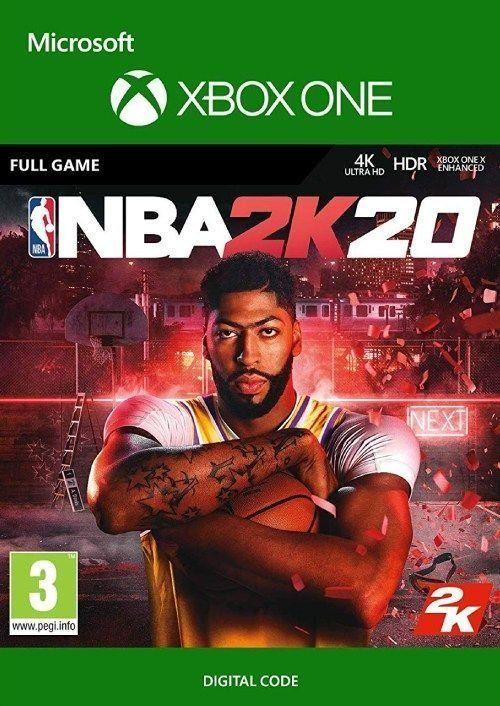 [Xbox One] NBA 2K20 - £3.49 @ CDKeys