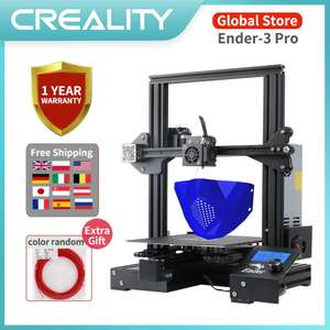Newest Upgrade Vision CREALITY 3D Ender-3 Pro Printer Kit £179.22 @ AliExpress CREALITY 3D Global Store