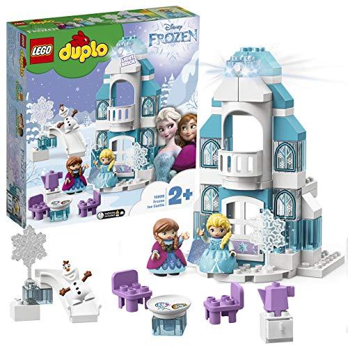 LEGO 10899 DUPLO Disney Frozen Ice Castle Princess Elsa and Anna Mini Dolls and Snowman Figure Set - £30.59 @ Amazon