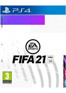 Preorder FIFA 21 (PS4) for only £44.85 at Base.com