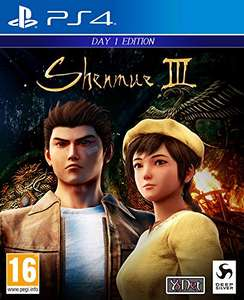 Shenmue III (PS4) Day One Edition - £16.99 Prime/£19.98 Non Prime @ Amazon UK